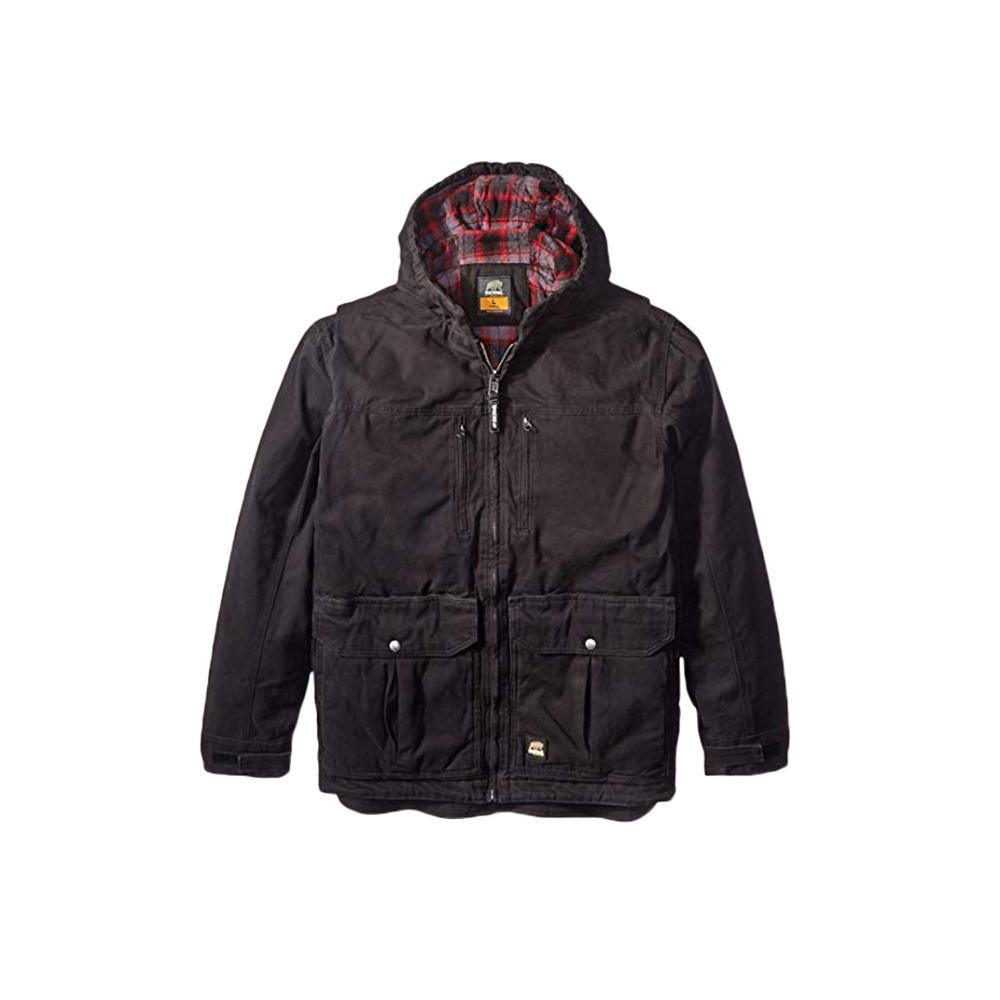 Men's 4 XL Black Cotton Echo One Jacket