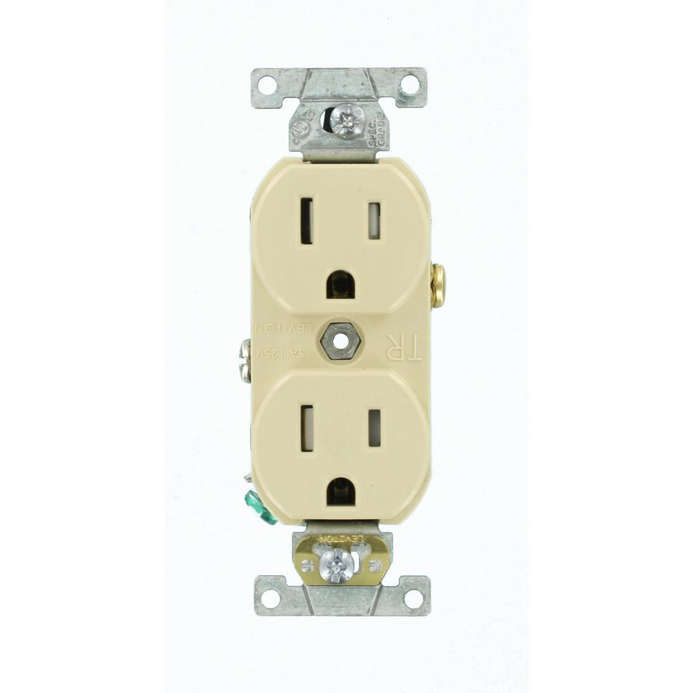 Leviton 15 amp commercial grade tamper resistant backwired - Commercial grade bathroom exhaust fans ...