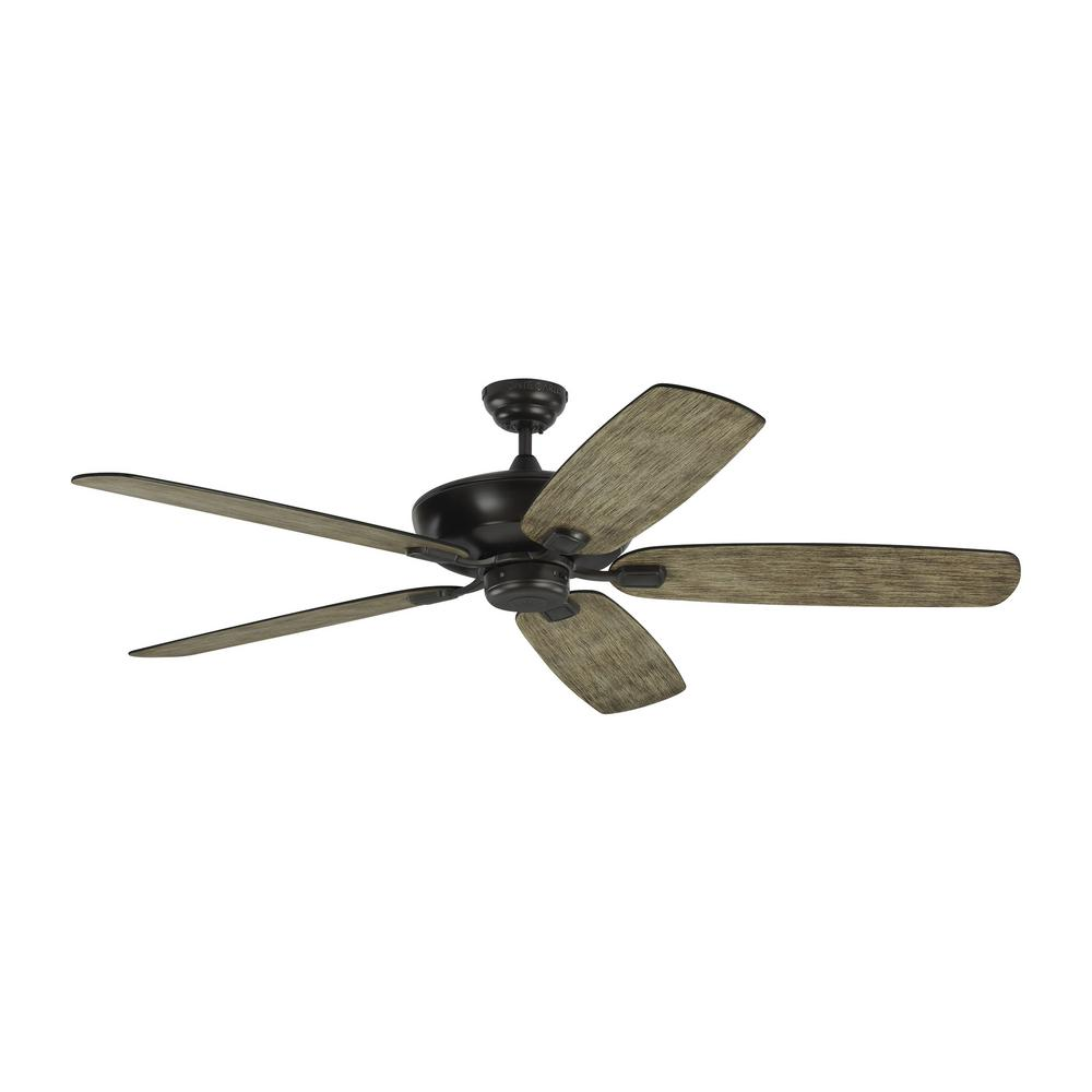 Monte Carlo Colony Super Max 60 in. Indoor/Outdoor Aged Pewter Ceiling Fan