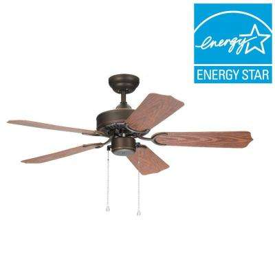 Panorama 42 in. Roman Bronze Outdoor Ceiling Fan