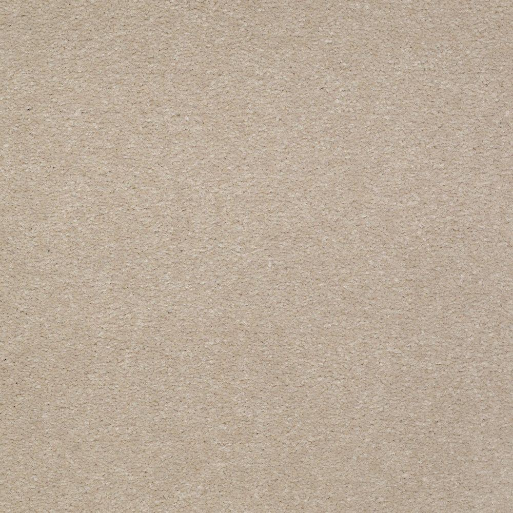 Carpet Sample Overdrive I Color Putty Texture 8 In X