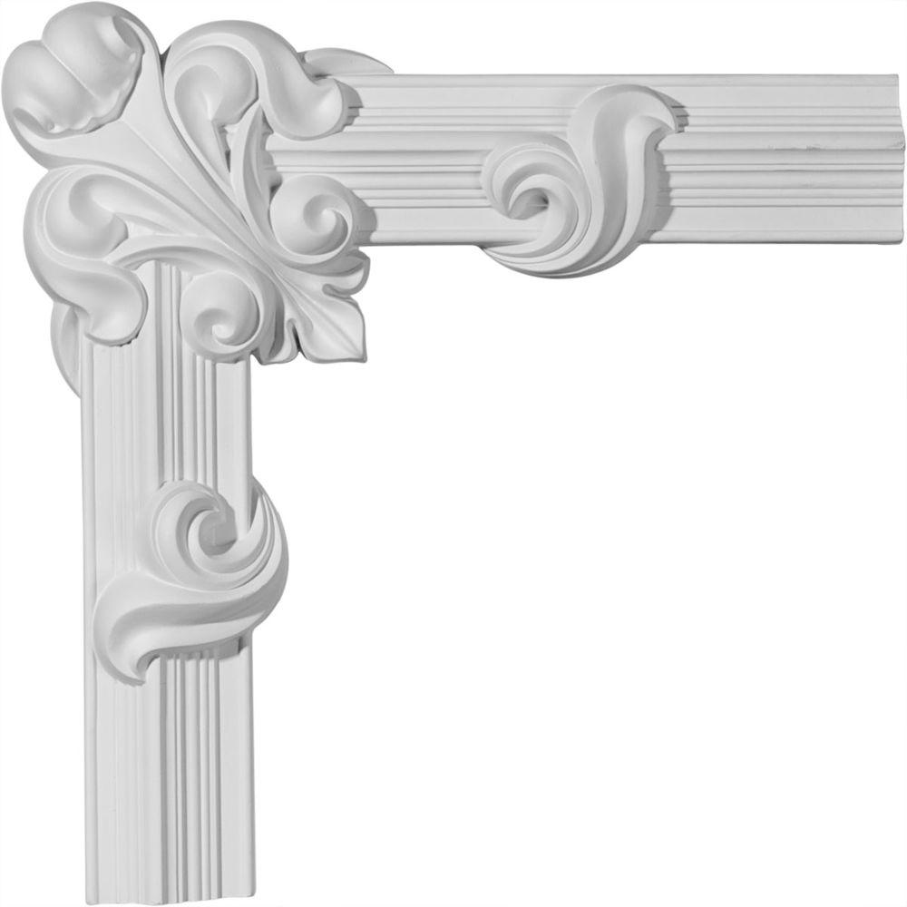 16-1/4 in. x 3/4 in. x 16-1/4 in. Edinburgh Panel Moulding