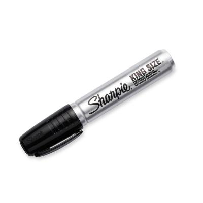 King Size Black Permanent Marker (3 per Pack)