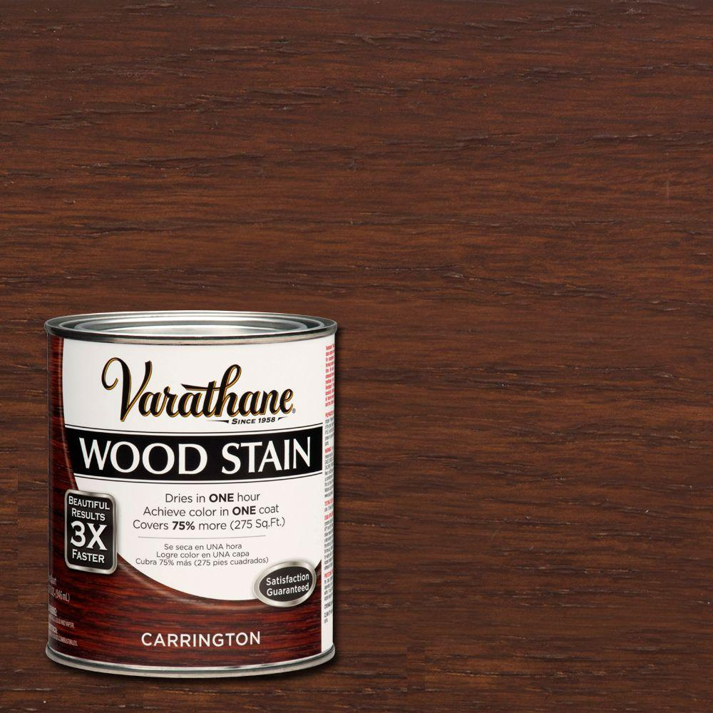 Varathane 1 qt. 3X Carrington Premium Wood Stain (Case of 2)