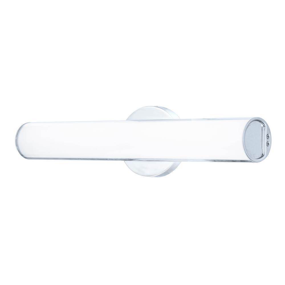 Oslo 19 in. Chrome LED Vanity Light Bar or Wall Light ENERGY STAR 3000K