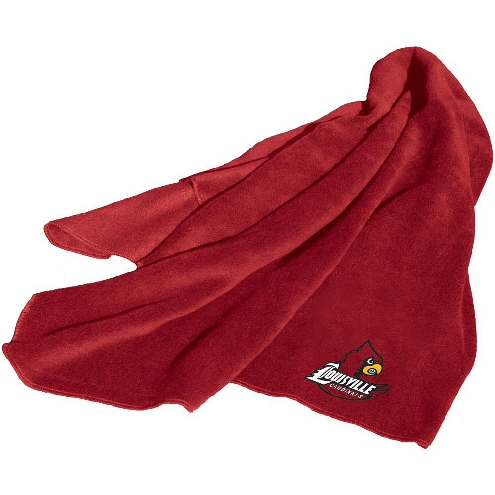 Logo Louisville Fleece Throw Blanket-DISCONTINUED