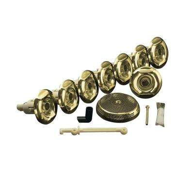Flexjet Whirlpool Trim Kit in Vibrant Polished Brass