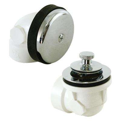 1-1/2 in. Sch. 40 PVC 1-Hole Bath Waste Kit