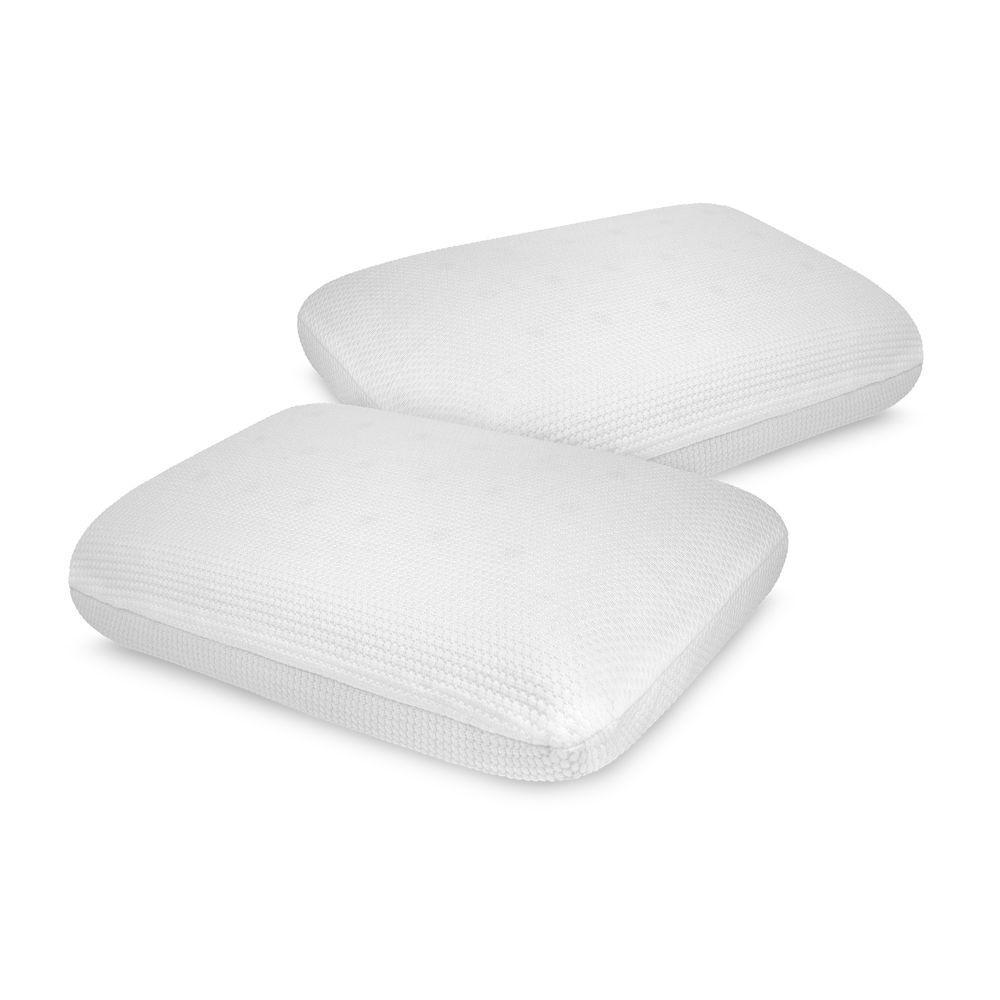 Classic Comfort Memory Foam Standard Bed Pillows (2-Pack)