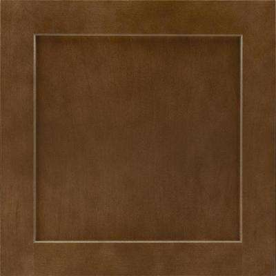 Leesburg 14 9/16 x 14 1/2 in. Cabinet Door Sample in Truffle