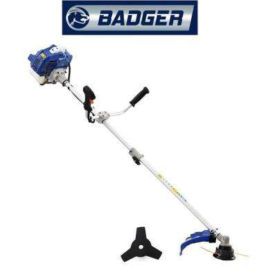 52 cc Gas 2-Cycle 2-in-1 Brush Cutter and String Hand Held Trimmer