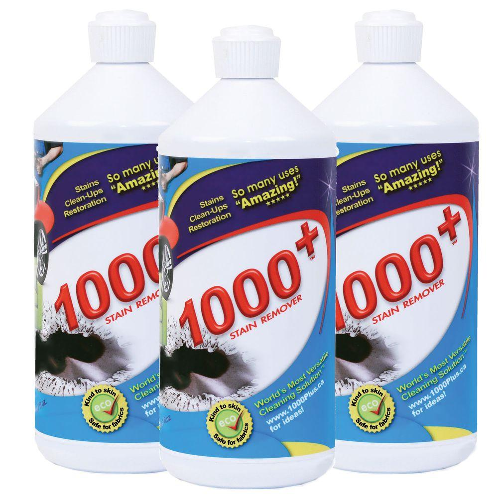 1000+ Stain Remover 30.7 oz. Stain Remover (3-Pack)