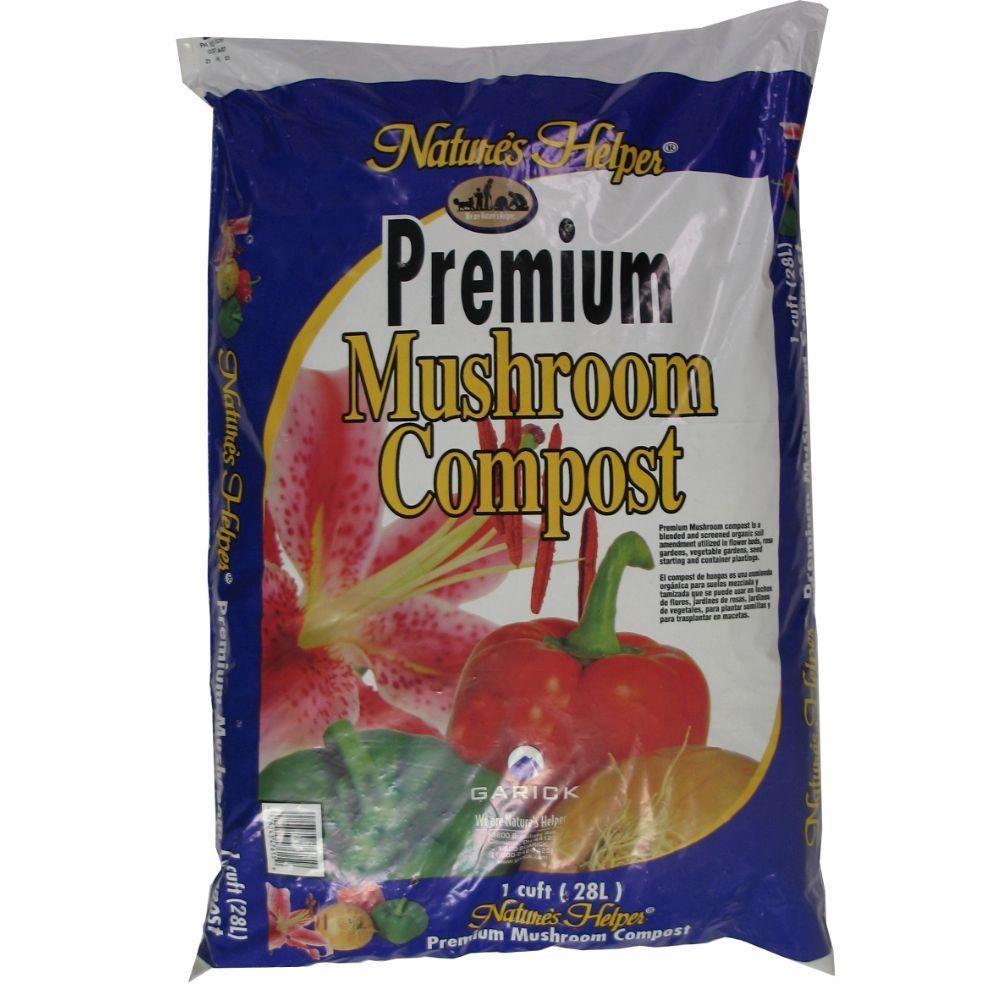 1 cu. ft. Premium Mushroom Compost