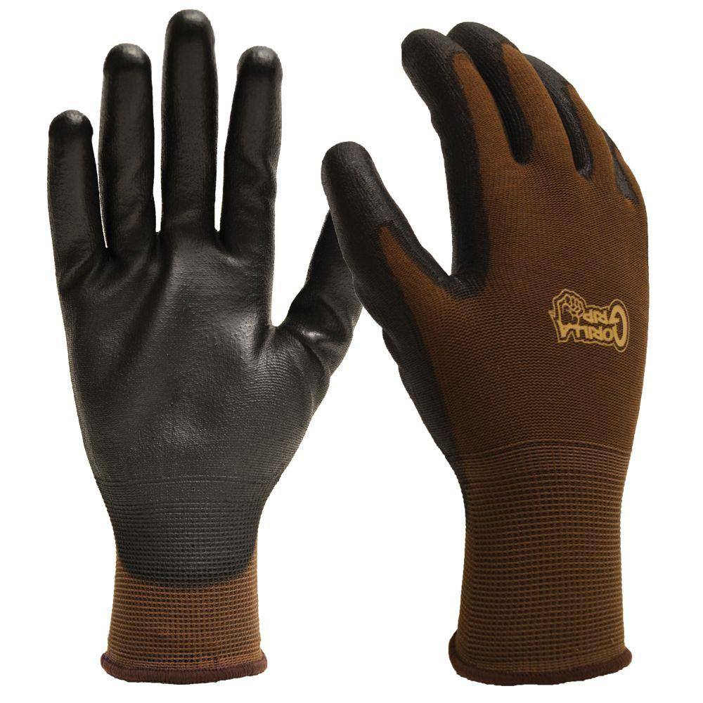 Grease Monkey Gorilla Grip Men's Large Fabric Gloves