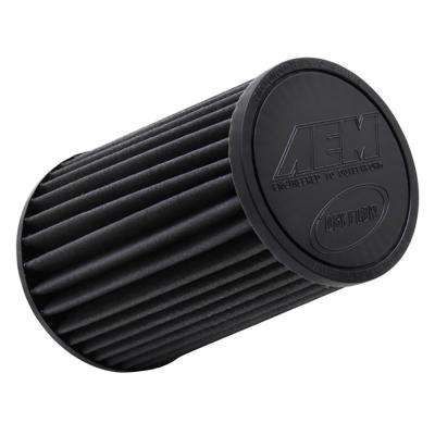 Replacement Universal DryFlow Round Tapered Filter 4in Flg ID/5.125in Top OD/6.5in Base OD/9in H