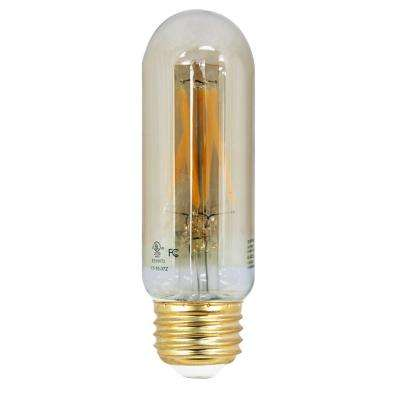 40W Equivalent Soft White (2200K) T10 Dimmable LED Vintage Style Light Bulb