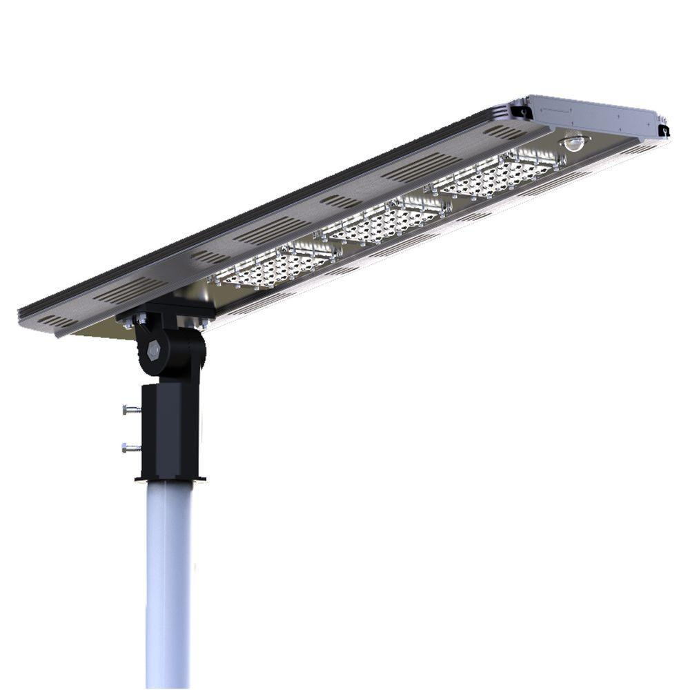 ELEDing Solar Power SMART LED Street Light For Commercial And Residential  Parking Lots, Bike Paths