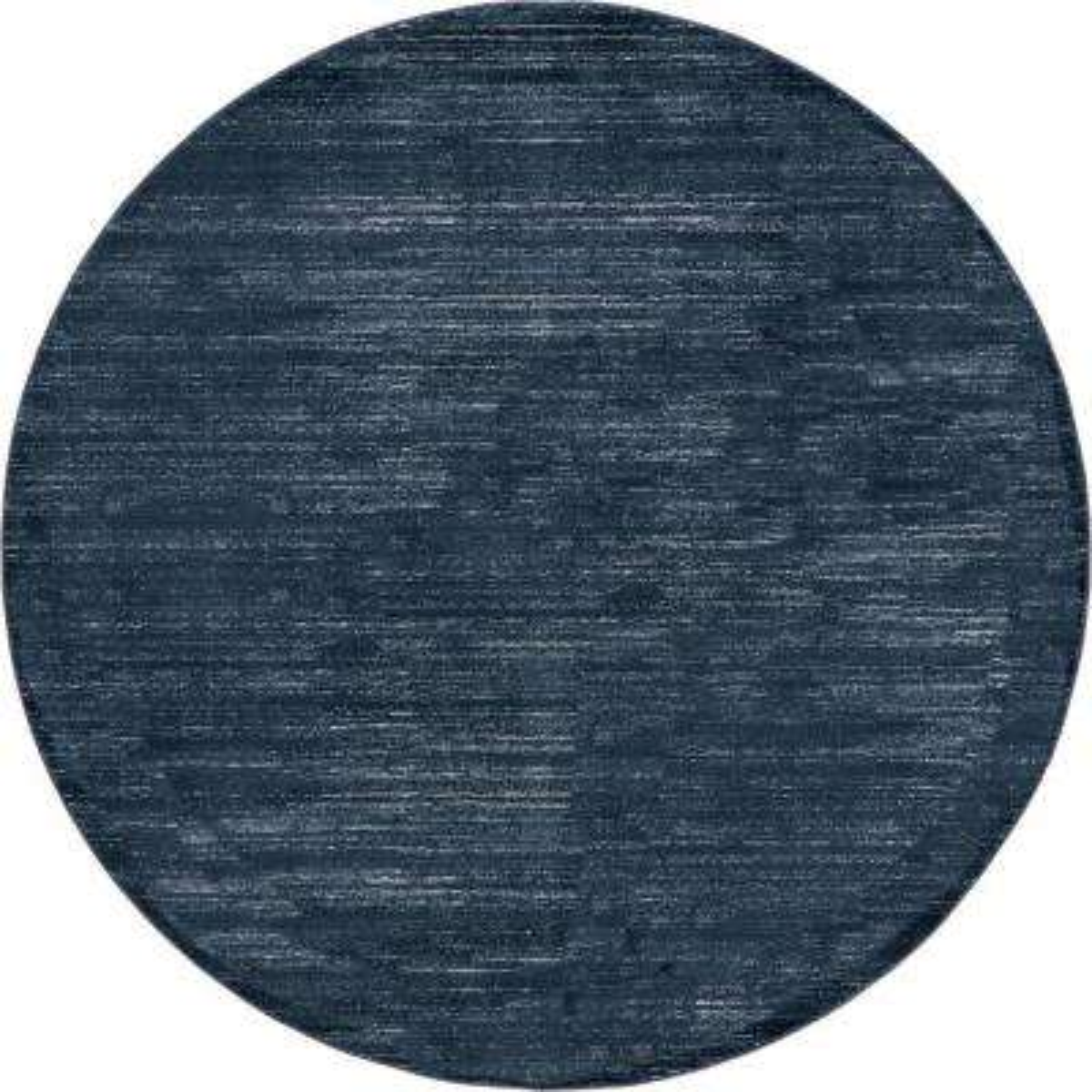 Uptown Collection by Jill Zarin Navy Blue 8' x 8' Round Rug