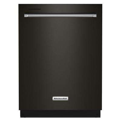 24 in. Top Control Built-In Tall Tub Dishwasher in PrintShield Black Stainless with Stainless Tub and Third Level Rack