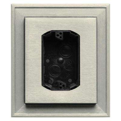7 in. x 8 in. #082 Linen Electrical Mounting Block