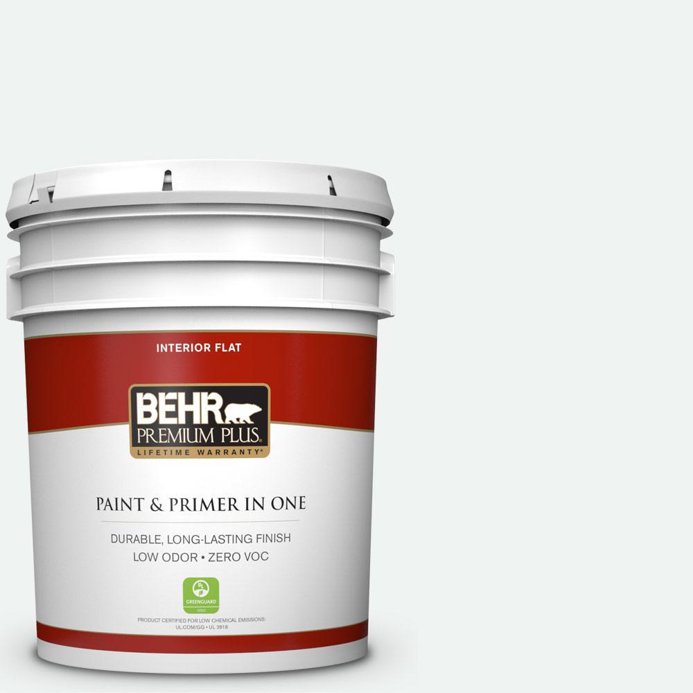BEHR Premium Plus 5-gal. #T13-14 Heavy Sugar Zero VOC Flat Interior Paint