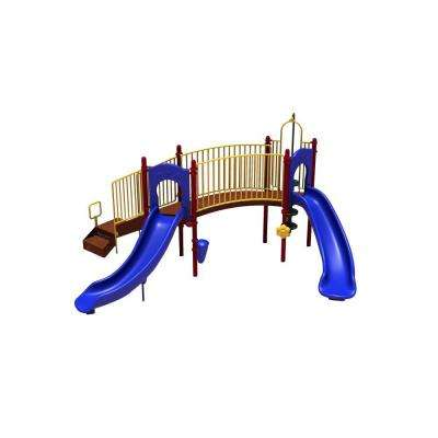 UPlay Today Hamilton Ridge (Playful) Commercial Playset with Ground Spike