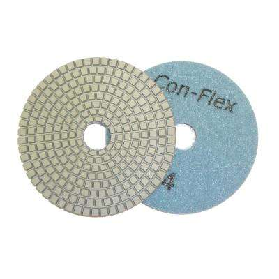 5 in. Con-Flex 5-Step Diamond Pads for Concrete Step 4