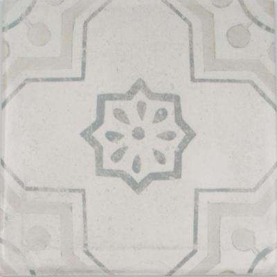 Handspun Cementine Mix 6 in. x 6 in. Ceramic Wall Tile (10 sq. ft. / case)