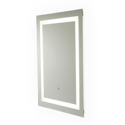Portifino 31.5 in. x 23.5 in. Hardwired LED Illuminated Backlit Mirror