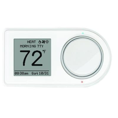 f6488da5ad6 LUX GEO 7-Day Wi-Fi Programmable Thermostat in White-GEO-WH-003 - The Home  Depot