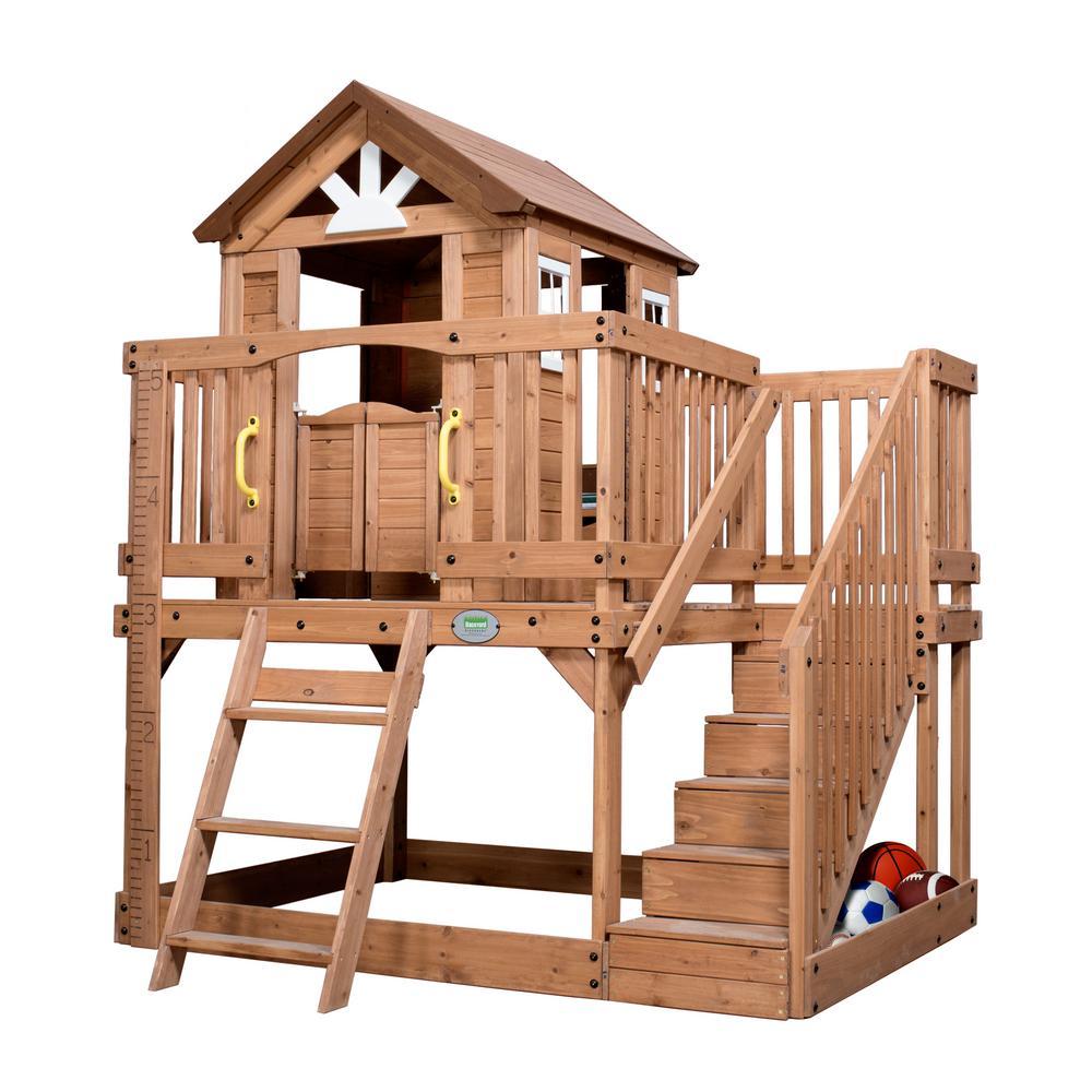 Backyard Discovery - Scenic Heights Cedar Playhouse