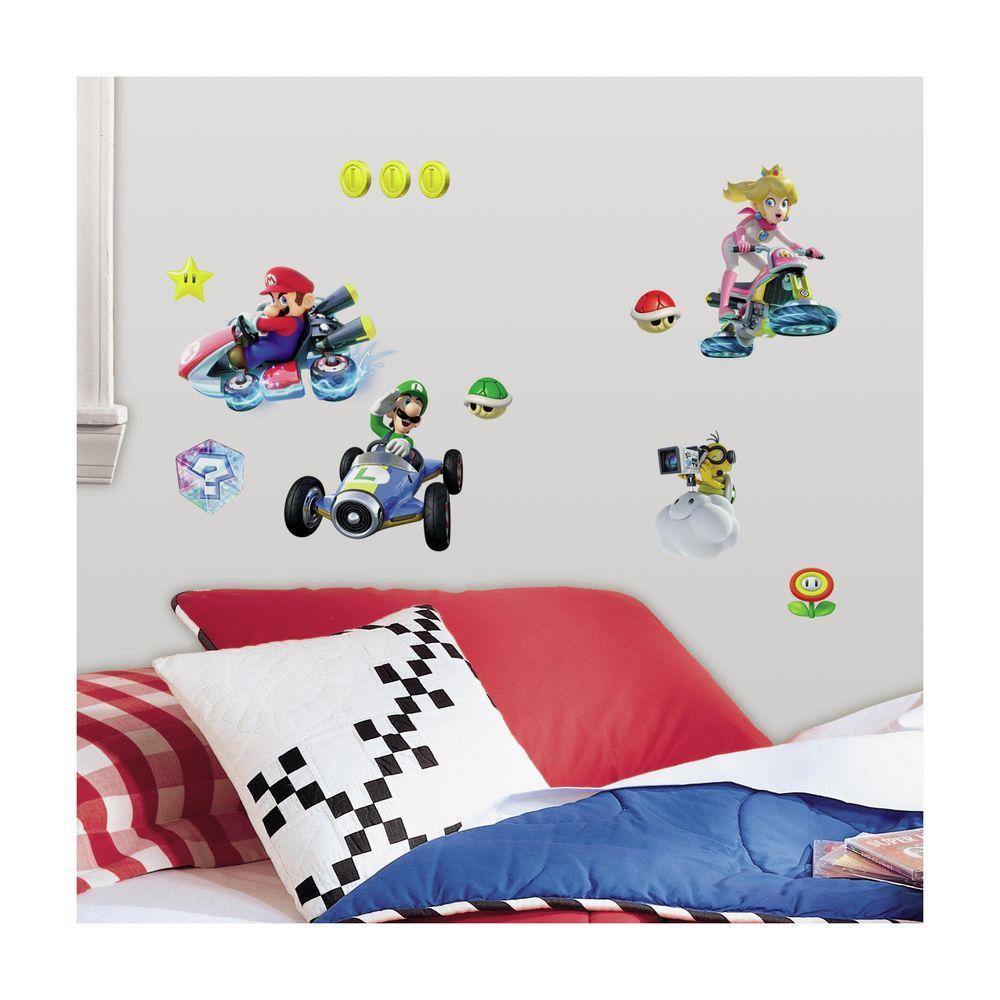 RoomMates Nintendo - Super Mario Bros  Wii Peel and Stick 35