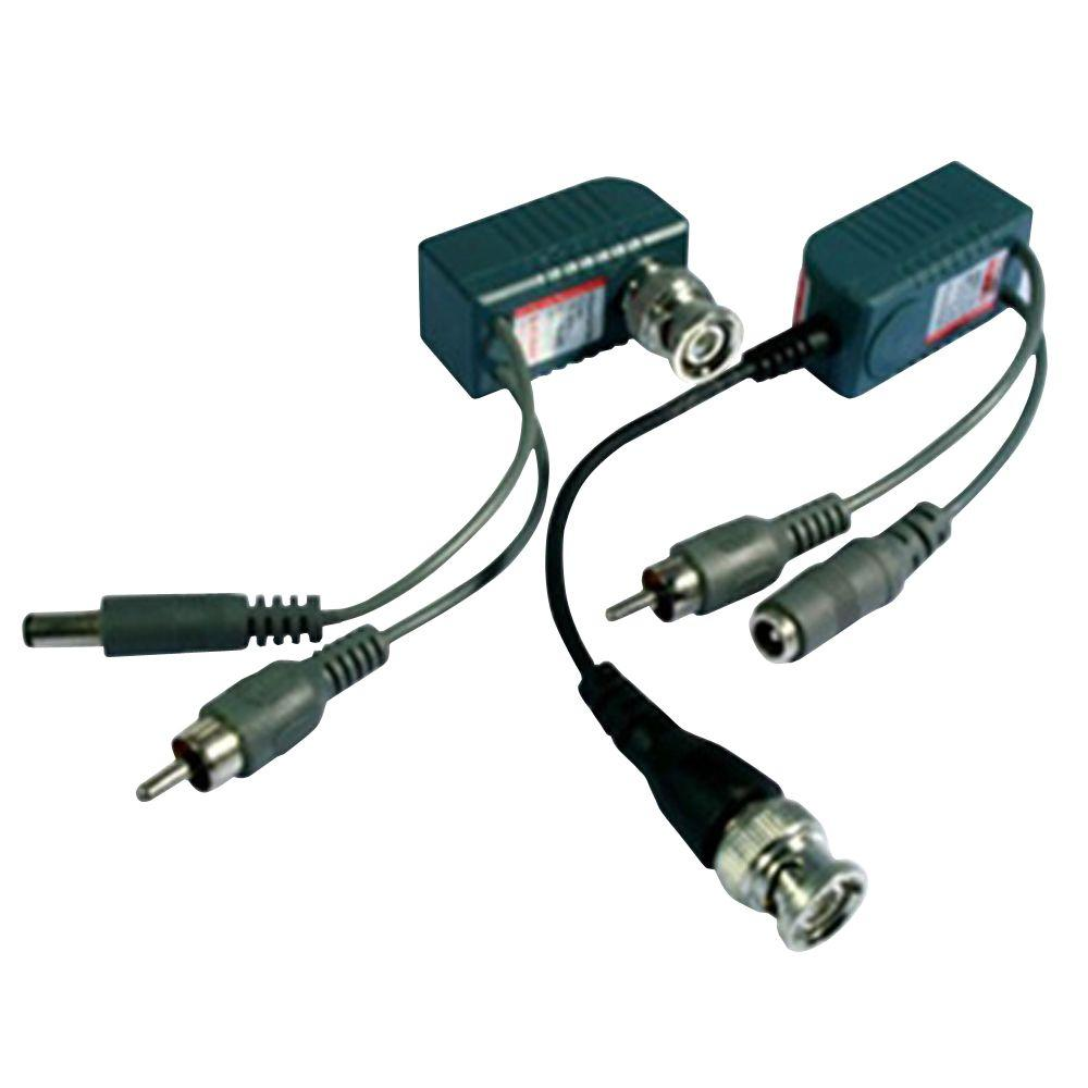 SPT UTP (Unshielded Twisted Pair) Balun with Video Audio Power Transmission