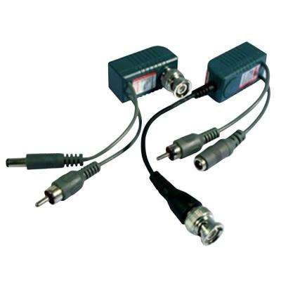 UTP (Unshielded Twisted Pair) Balun with Video Audio Power Transmission