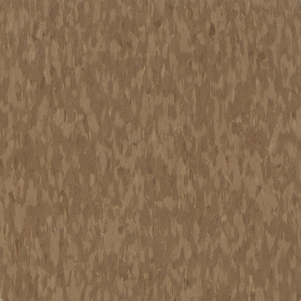 Imperial Texture VCT 12 in. x 12 in. Humus Standard Excelon