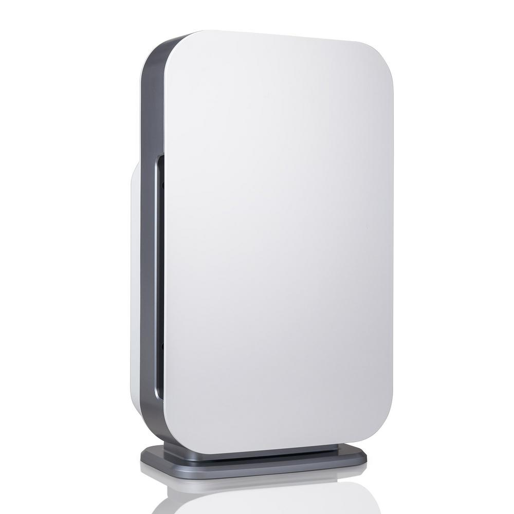 Alen Customizable Air Purifier with HEPA-Silver Filter to Remove Allergies Mold and Bacteria in White