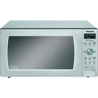 1.6 cu. ft. Built-In / Countertop Microwave Oven in Stainless Steel with Inverter Technology