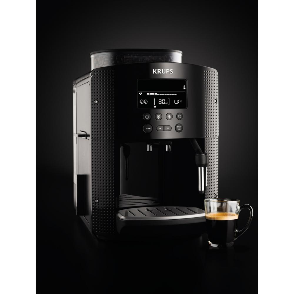 krups pisa programmable espresso machine ea815050 the home depot. Black Bedroom Furniture Sets. Home Design Ideas