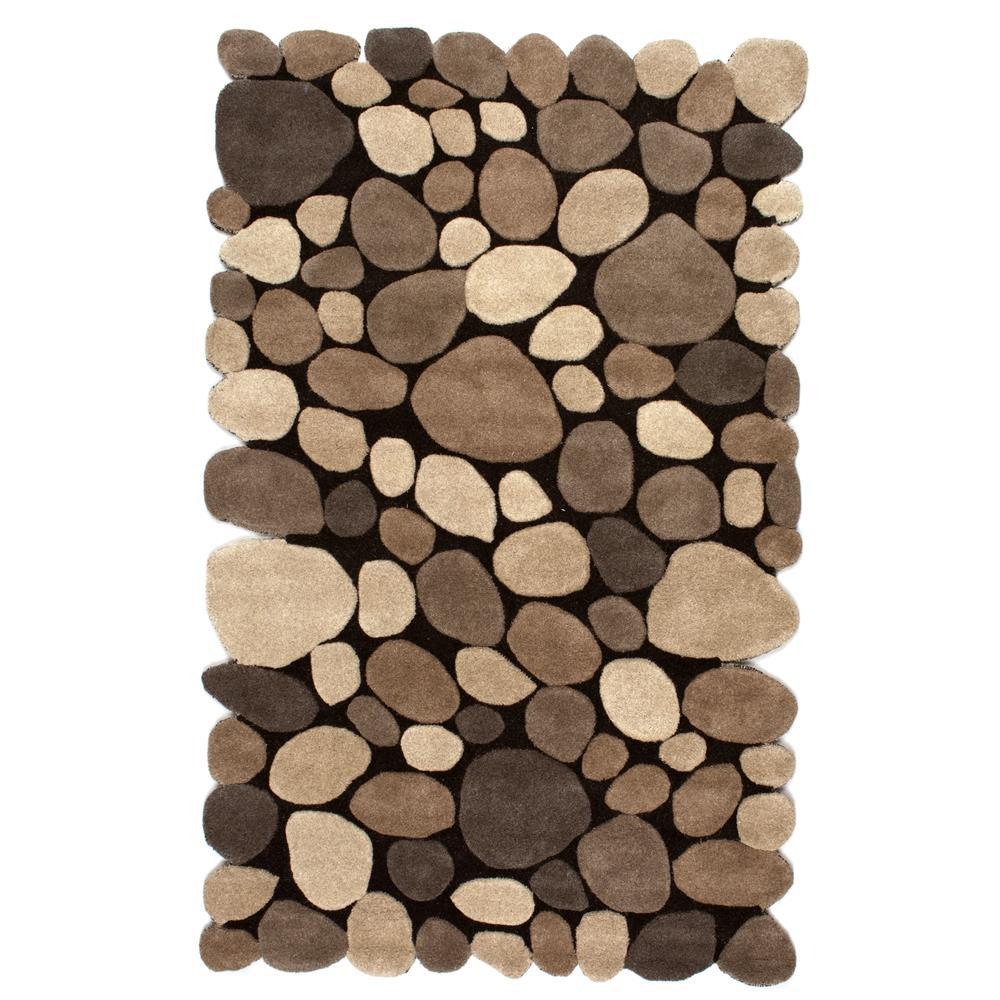 nuLOOM Pebbles Natural 5 ft. x 8 ft. Area Rug