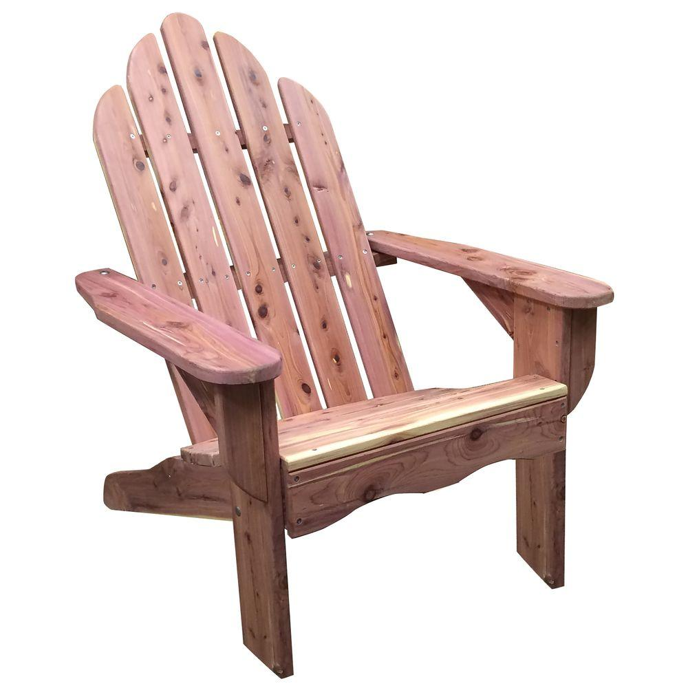 Amerihome Amish Made Cedar Patio Adirondack Chair 801712 The Home