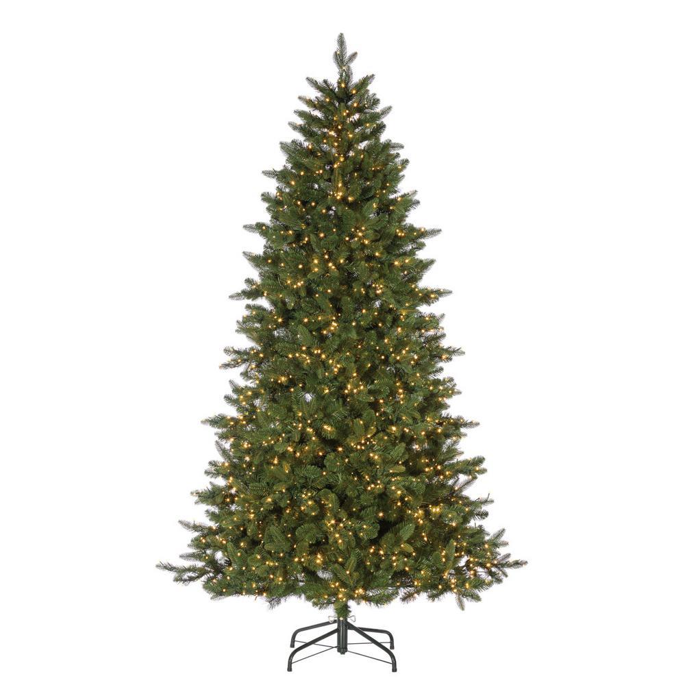 White Fir Christmas Tree: Sterling 7.5 Ft. Natural Cut Lakeland Fir Artificial