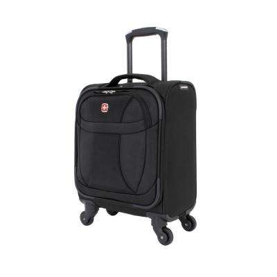 15 in. Lightweight Business Companion Suitcase in Black
