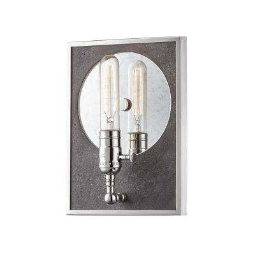 Ripley 1-Light Polished Nickel Wall Sconce
