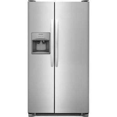 22.1 cu. ft. Side by Side Refrigerator in Stainless Steel
