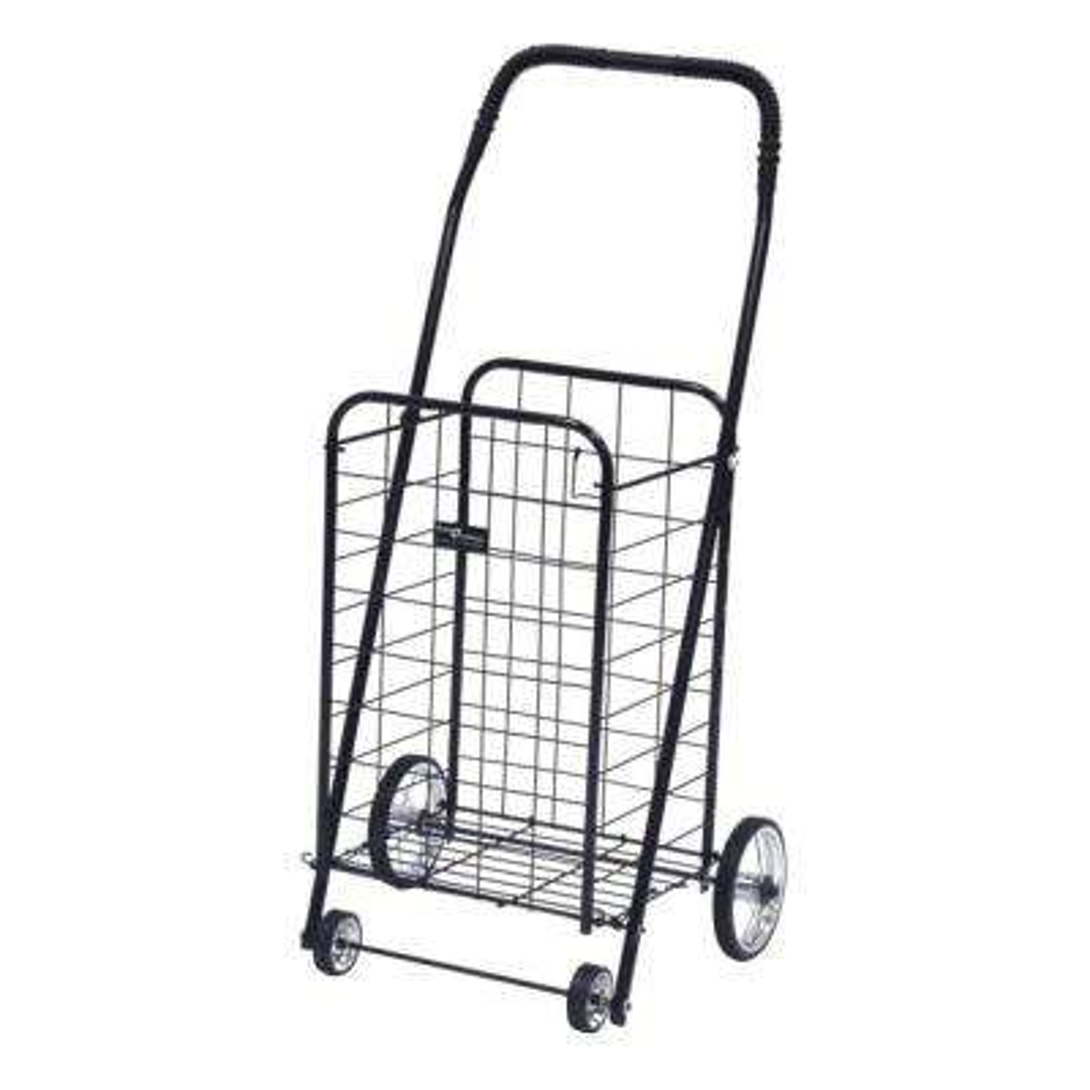 Mini Shopping Cart in Black