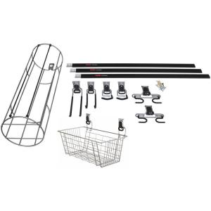 Rubbermaid FastTrack 14-Piece Garage Storage Sports and Activity Kit by Rubbermaid