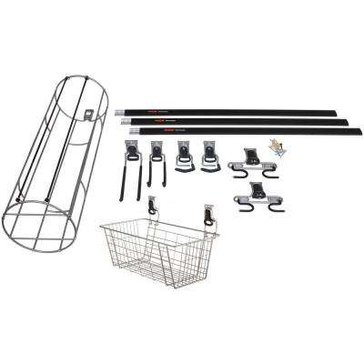 FastTrack 14-Piece Garage Storage Sports and Activity Kit