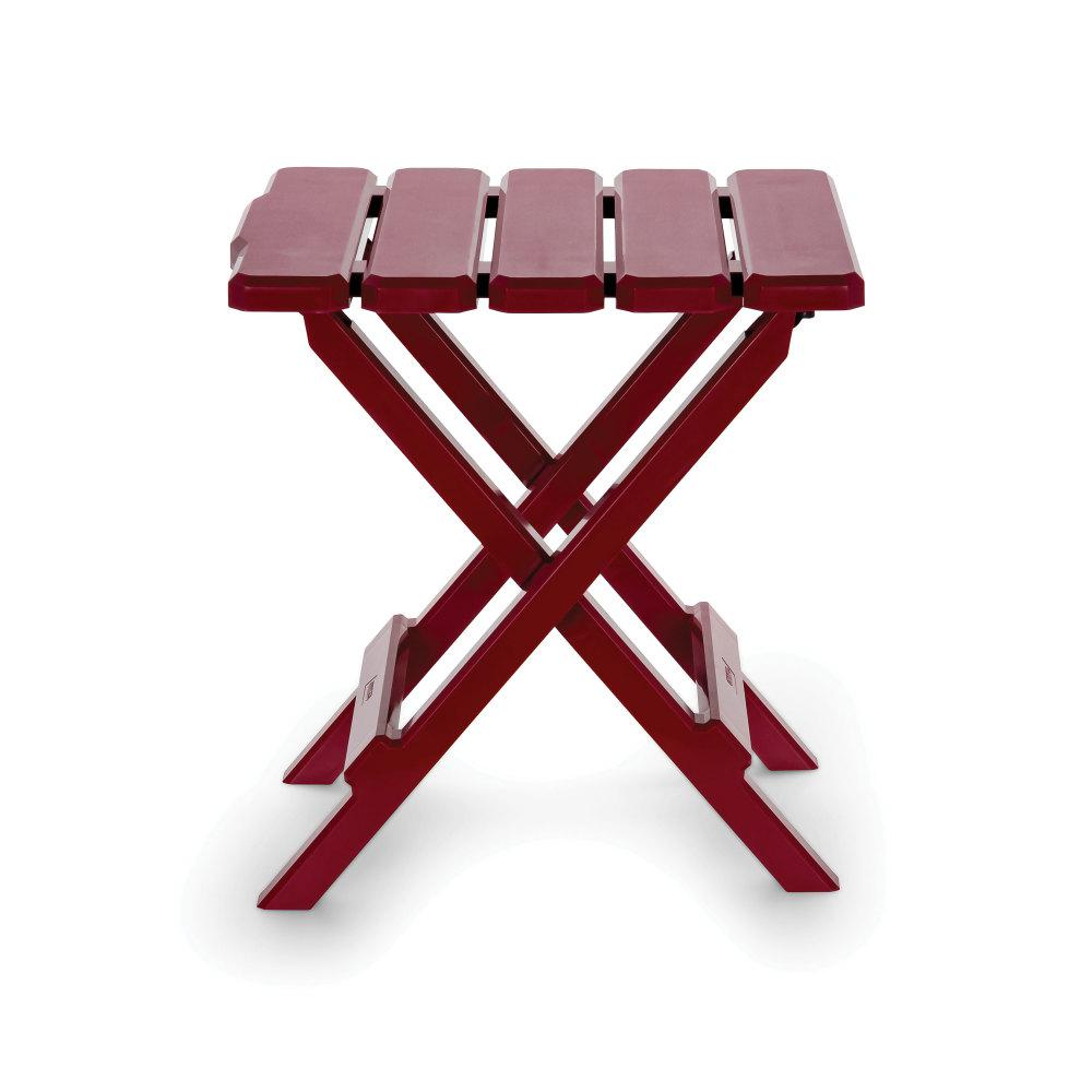 Adirondack Folding Table Small Red
