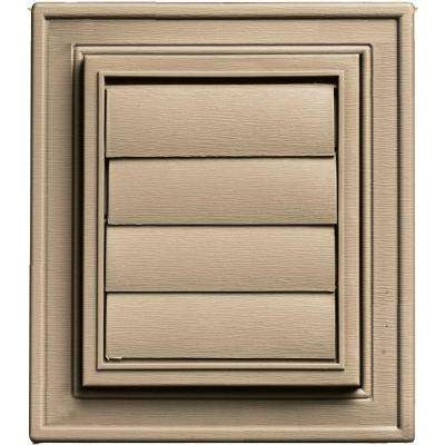 Square Exhaust Siding Vent #069-Tan