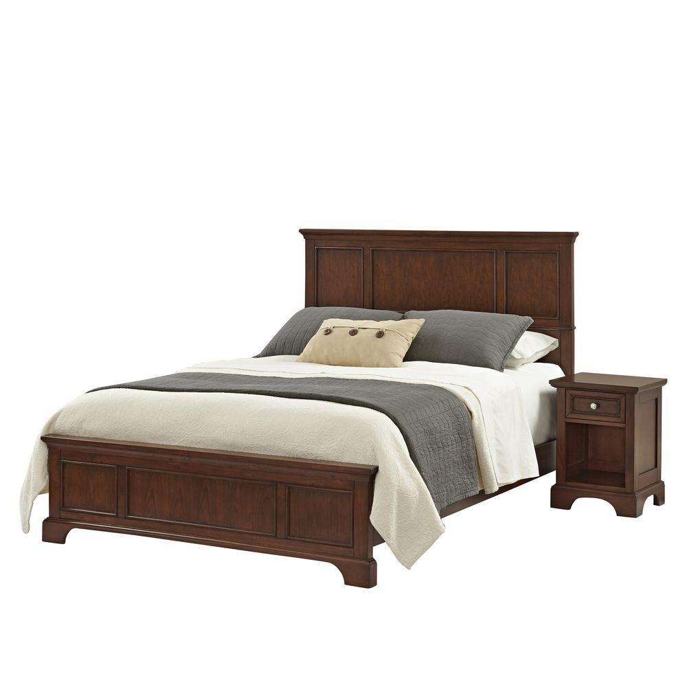 Chesapeake 2-Piece Cherry Queen Bedroom Set